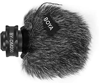 BOYA BY-DM200 Digital Stereo Cardioid Condenser Microphone MFI Certified Superb Sound for iOS Devices Recording for iPhone...