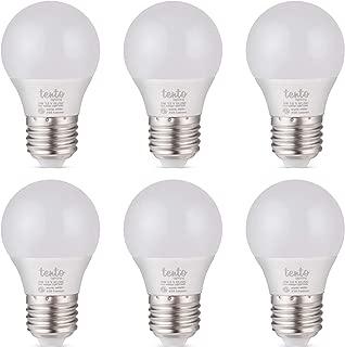 12 Volt LED Bulbs E26 Base 12vdc 12v Light Bulbs RV Lighting Off-Grid Cabin Low Voltage Lights (12 Volt Warm White 6 Pack)
