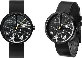 AÃRK Collective Daniel Emma horloge | Marble Nero - zwart