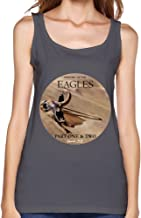 ZYX The Eagles Band History of The Eagles Tour 2015 Album Tank Top for Women Black