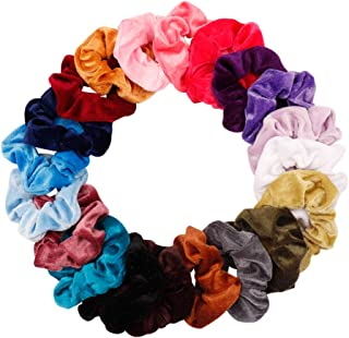 Ncmama Hair Scrunchies Elastic Hair Bands Scrunchy Hair Ties Ropes Scrunchie for Women or Girls Hair Accessories