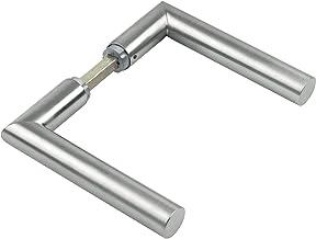 JUVA Deurbeslag roestvrij staal deurkruk verstek deurkruk kamerdeur - L-vorm deurklink 1802 | deurkruk voor rozettengarnit...