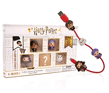 Wizarding World Harry Potter K-Bling - 5 Pack Collectable Cable Protector