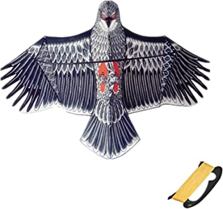 Large Eagle Kite, Wingspan And Lifelike Design, Easy To Assemble And Fly Suitable for Adults And Children Beach Trips Park...