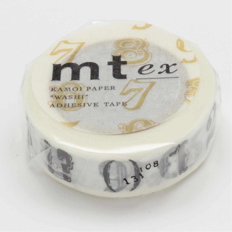 MT Washi Masking Tape, 15mm x 10m, Black (MTEX1P44)