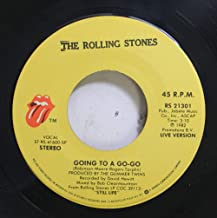 THE ROLLING STONES 45 RPM GOING TO A GO-GO / BEAST OF BURDEN