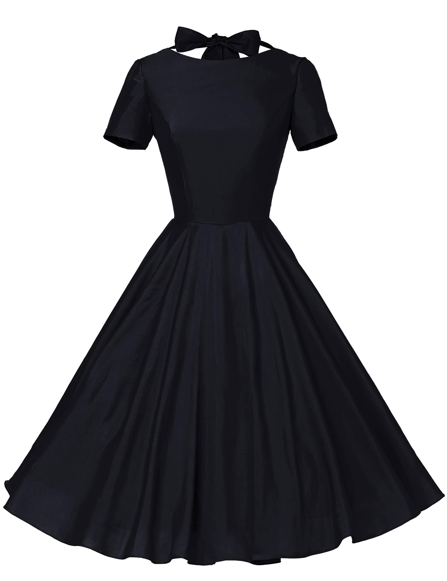 Available at Amazon: GownTown Women's 1950s Vintage Retro Party Swing Dress Rockabillty Stretchy Dress