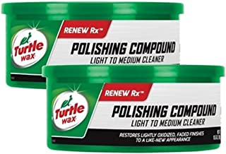 Turtle Wax T-241A Polishing Compound & Scratch Remover - 10.5 oz. (2 Pack)