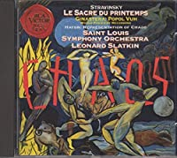 Stravinsky: Le Sacre du printemps; Ginastera: Popol Vuh; Haydn: The Creation: Representation of Chaos by DONIZETTI GAETANO / VERDI GIU