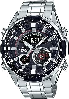 Casio Edifice Analog-Digital Black Dial Men's Watch - ERA-600D-1AVUDF (EX354)