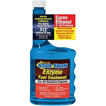 Star Tron Enzyme Fuel Treatment - Concentrated Formula 32 oz - Treats 512 Gallons