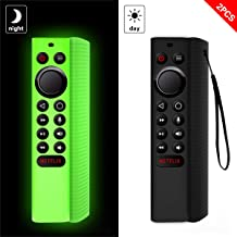 Upgraded 2Pcs Protective Cover for NVIDIA Shield TV Pro/4K HDR Remote Controller Series, WQNIDE for Light Weight Kids-Friendly Silicone Case Anti-Slip/Shockproof with Hand Strap