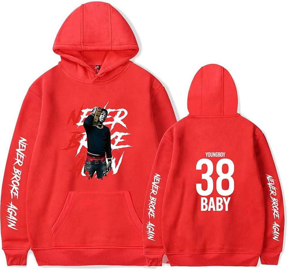 WAWNI YoungBoy Max 46% OFF Never Broke Again Hoodies Hip Fans Sweatshirt Fashion Hop