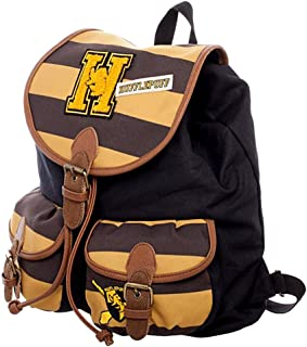 Harry Potter Hufflepuff Varsity Knapsack Backpack 14 x 17in