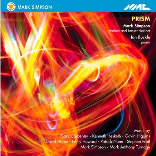Prism - Music for Basset Clarinet & Piano by Simpson, Buckle (2011-09-27)