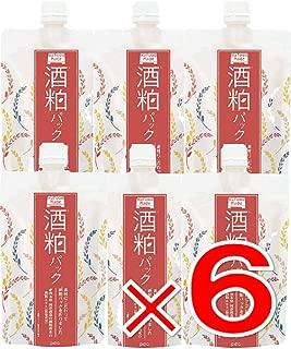 【 6個 】 ワフードメイド (Wafood Made) 酒粕パック 170g 日本製