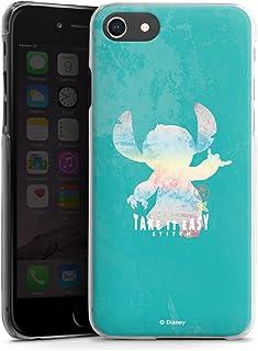 Hardcase compatibel met Apple iPhone SE (2020) Hoesje Doorzichtig Telefoonhoesje Lilo & Stitch Officieel licentieproduct D...