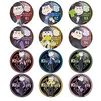 おそ松さん MatsunoFamily トレーディング缶バッジ vol.2 BOX商品 1BOX = 12個入り、全12種類