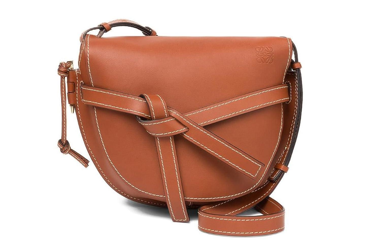 コテージ散逸ブレース(ロエベ) LOEWE Women Gate Bag Rust Color レディースゲートバッグレストカラー (並行輸入品)