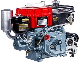 Motor Diesel Toyama Refrigerado à Água 402cc 7,7hp 2.600rpm Sifão Injeção Direta Partida Elétrica Tdwe8e-xp