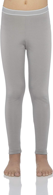 Rocky Girls Fleece Lined Thermal Leggings Long Underwear Kids Base Layer Bottom Pants