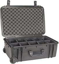 product image for Seahorse Black 920 case with padded dividers. With Wheels.