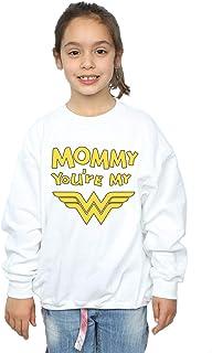 DC Comics Girls Wonder Woman Mummy You're My Hero Sweatshirt