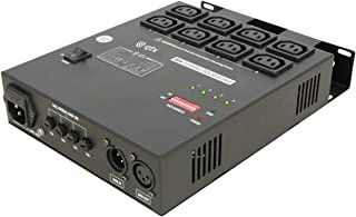 qtx 154.111 4 Channel DMX Relay Pack - Black