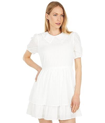 LOST + WANDER Coconut Vine Short Sleeve Mini Dress