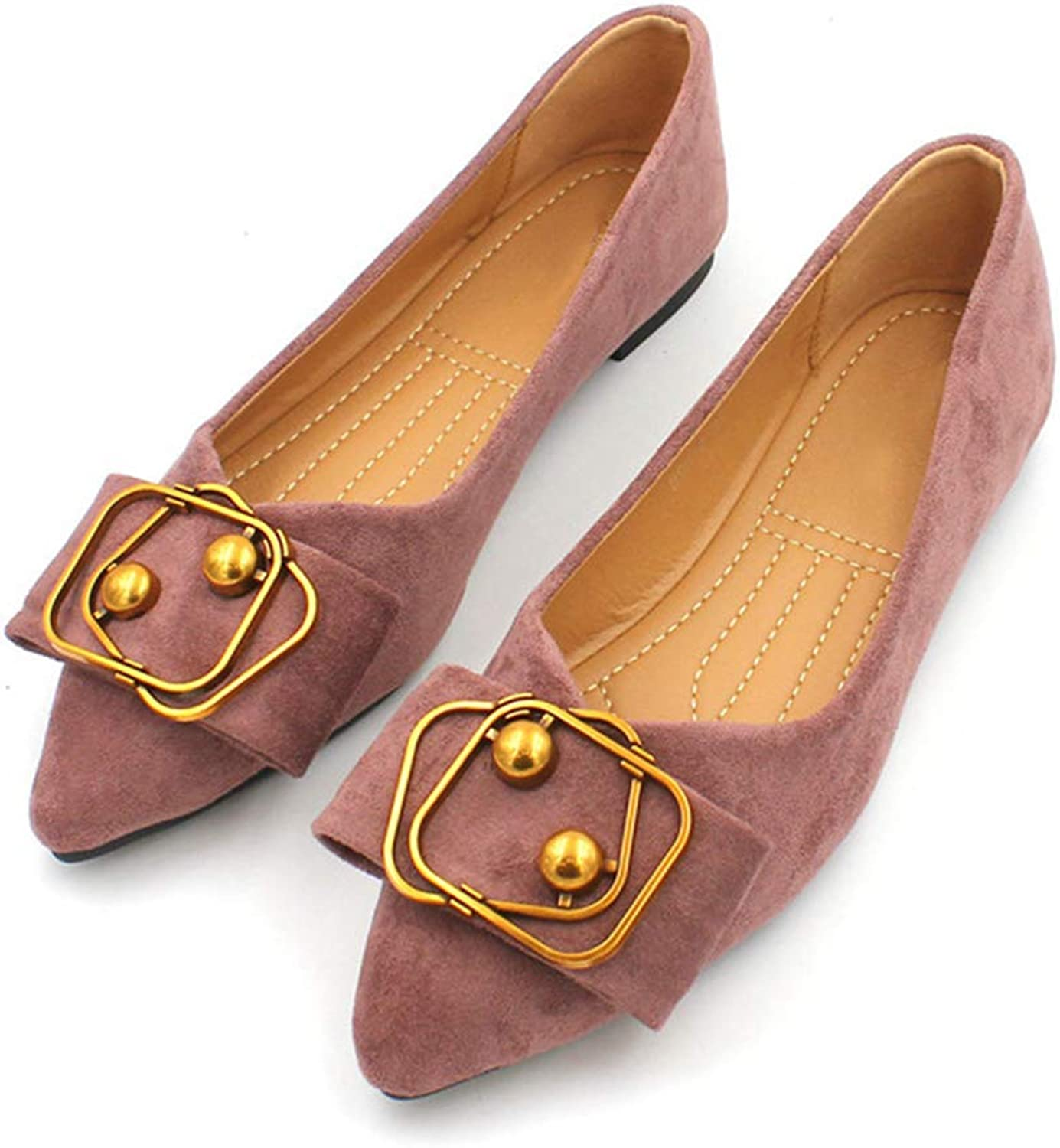 Kyle Walsh Pa Women Flats shoes Pointed Toe Ladies Casual Soft Office Driving Footwear Loafers