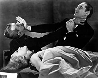 Posterazzi The Black Cat Lucille Lund Boris Karloff Bela Lugosi 1934 Photo Poster Print, (28 x 22), Varies