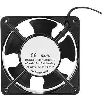 SODIAL(R) 220 240V 120x120x25mm Ventilateur de