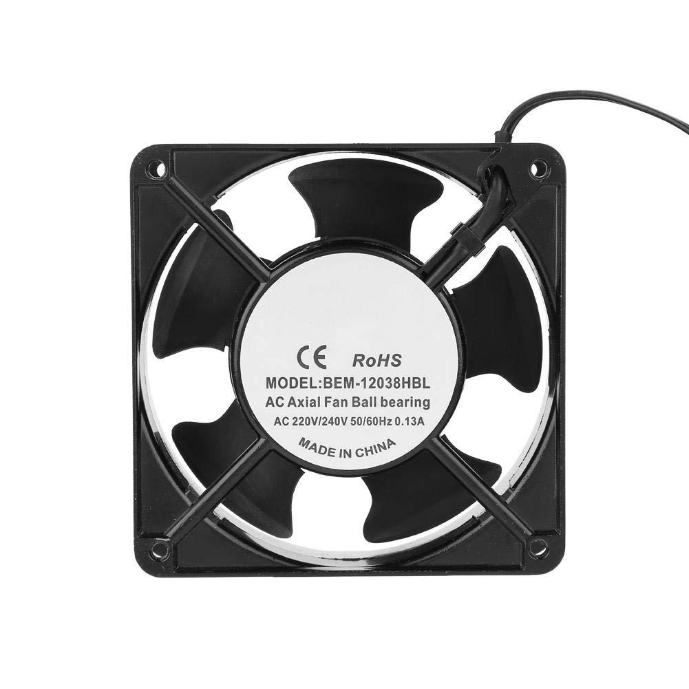 Ventilador de enfriamiento de la máquina de soldar, ventilador de enfriamiento de flujo de aire Enfriador del disipador de calor Disipación rápida de calor para el módulo de control de la máquina de s