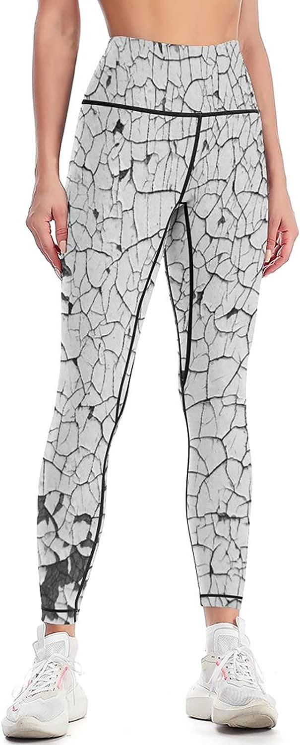 Latest item Abstract Background Old Cracked Plaster Women Yoga H Limited Special Price Wall Pants