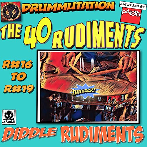 R#17/R#19 Double Paradiddle/Single Paradiddle Diddle Double Time 60 to 140 Bpm