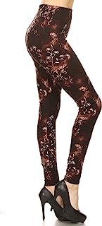 Leggings Depot Ultra Soft Women's Printed Fashion Leggings Batch22