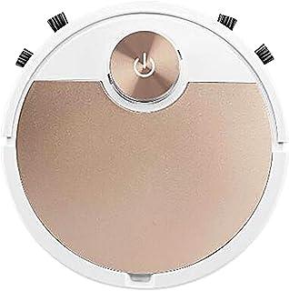 Holshop Robot Aspirador, función de Limpieza 3 en 1, Navegación giroscópica, Potencia de succión 2800PA,silencioso,autocar...