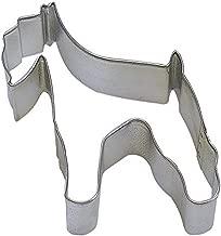 CybrTrayd R&M Schnauzer Tinplated Steel Cookie Cutter, 3-Inch, Silver, Bulk Lot of 12
