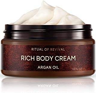 Zeitun Wellness Natural Body Cream For Women | Ritual Of Revival | With Argan Oil | Skin Restoring Body Moisturizer For Dr...