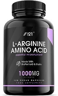 L-Arginina con BioPerine® & Cápsulas
