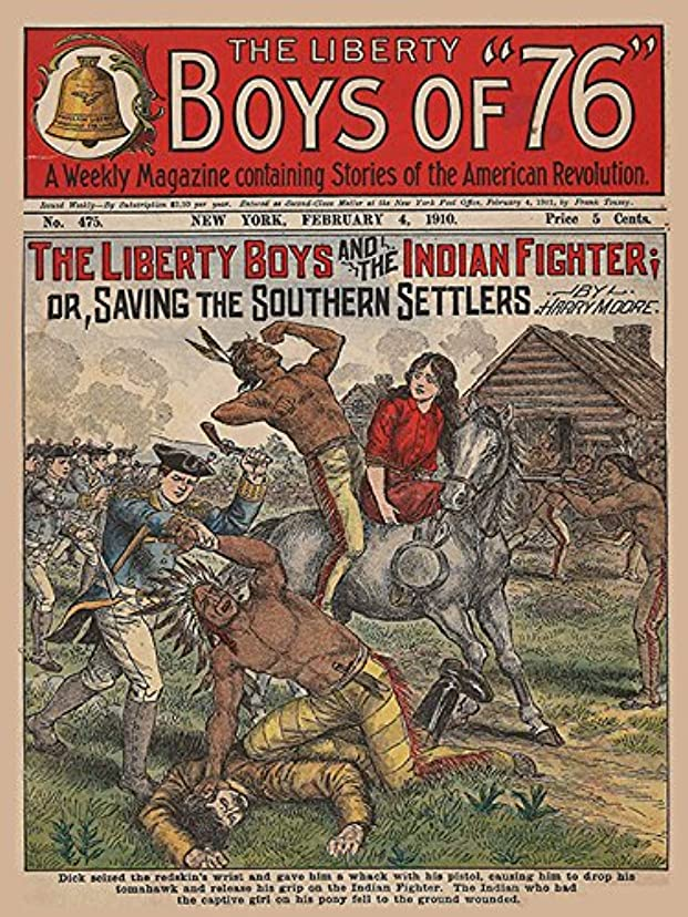 The Liberty Boys and the Indian Fighter (English Edition)