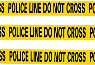 Yellow Caution Tape - Police Line Do Not Cross - 20 ft