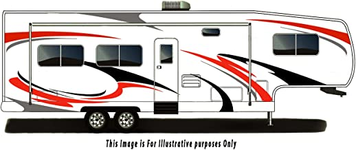 RV, Trailer Hauler, Camper, Motor-Home Large Decals/Graphics Kits 28-k-1