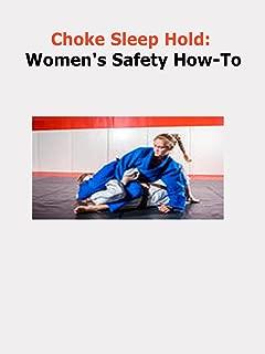woman choke hold
