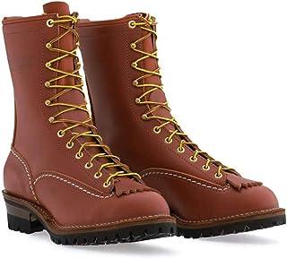 Wesco Jobmaster Men's Boot RW110100 | Redwood Color | Leather Boot & Vibram Sole