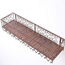 HTTJJ Wine Rack - Simple Wall-Mounted Wine Glass Holder Goblet Wine Storage Decorative Rack Bar, Restaurant, Kitchen [3 Co...