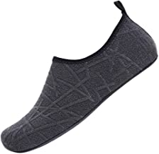 NEEKEY Womens and Mens Water Shoes Beach Swimming Diving Socks Barefoot for Outdoor Beach Swim Surf Yoga Exercise