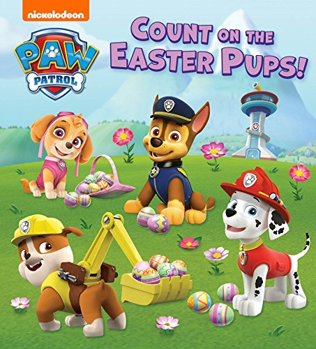 Count on the Easter Pups (PAW Patrol) Kindle Edition