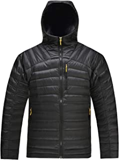 Men's Packable Down Jacket Hooded Lightweight Winter Puffer Coat Outerwear