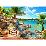 Puzzles for Adults 1000 Piece Puzzles for Adults – Resort Bay Landscape 1000 Piece Puzzle Game Toys Gift for Adults Kids